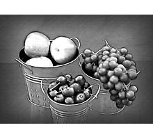 Fruit without Color Photographic Print