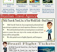Flight To Brazil by BrazilPackages
