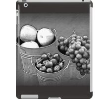 Fruit without Color iPad Case/Skin