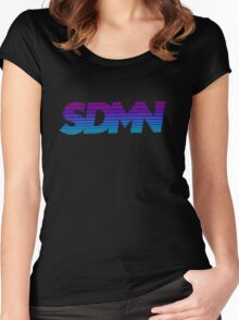 SDMN - Original Women's Fitted Scoop T-Shirt