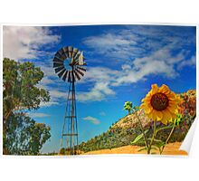 Country Sunshine Poster