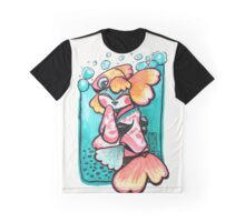 Goldfish Geisha Graphic T-Shirt