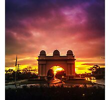 Sunset at the Arch Photographic Print