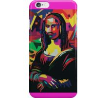Mona Lisa Abstract  iPhone Case/Skin