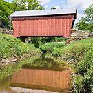 Center Point Covered Bridge by Kenneth Keifer
