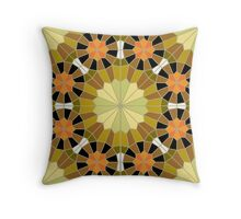 Mosaic Line 2 Throw Pillow