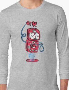 Red Robot Long Sleeve T-Shirt