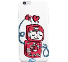 Red Robot iPhone Case/Skin