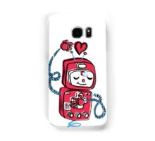 Red Robot Samsung Galaxy Case/Skin