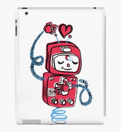 Red Robot iPad Case/Skin