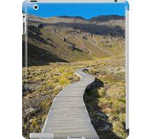 Boardwalk in Tongariro National Park (2) iPad Case/Skin