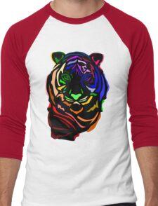 Punk Tiger Men's Baseball ¾ T-Shirt