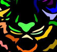 Punk Tiger Sticker