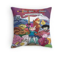 Adventure Time Fiona  Throw Pillow