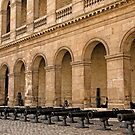 Army Museum Of France - Inner Courtyard - 2 © by © Hany G. Jadaa © Prince John Photography