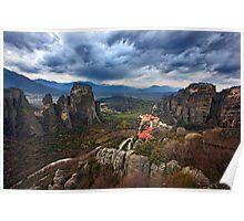 The Magic of Meteora Poster