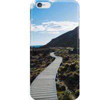 Boardwalk in Tongariro National Park (3) iPhone Case/Skin