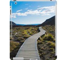 Boardwalk in Tongariro National Park (1) iPad Case/Skin