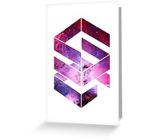 Abstract Space - version 1 Greeting Card