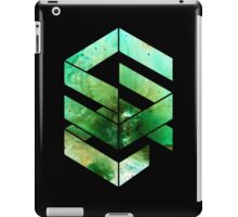 Abstract Space - version 2 - inverted iPad Case/Skin
