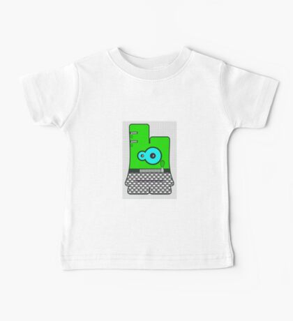 Boogie Bo from Boogie Buds Surfpunk Series Baby Tee