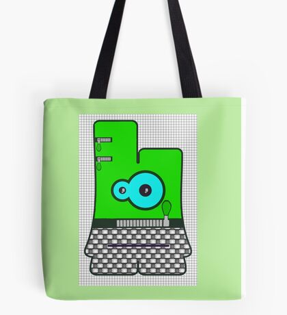 Boogie Bo from Boogie Buds Surfpunk Series Tote Bag