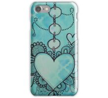 Love Heart Doodle Artwork iPhone Case/Skin
