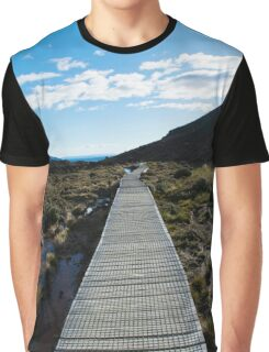 Boardwalk in Tongariro National Park (4) Graphic T-Shirt