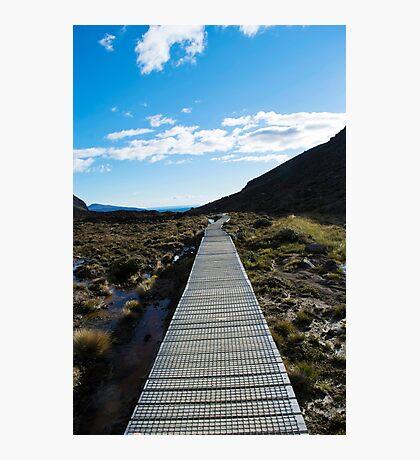 Boardwalk in Tongariro National Park (4) Photographic Print