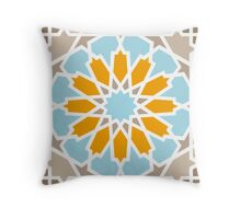 Mosaic Line 5 Throw Pillow