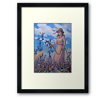 Mary Mary (Quite Contrary) Framed Print