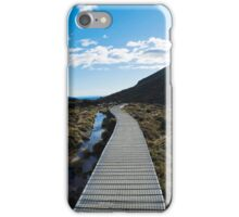 Boardwalk in Tongariro National Park (5) iPhone Case/Skin