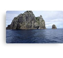 Hole in the Cliff Canvas Print
