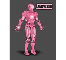 Pink Ironman Photographic Print