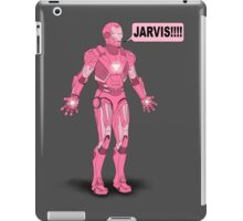 Pink Ironman iPad Case/Skin
