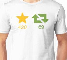Fav and Retweet Unisex T-Shirt