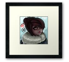 Snowy Mei! Framed Print