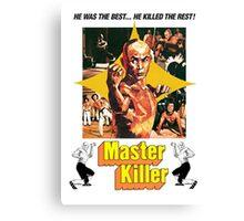 Master Killer Canvas Print