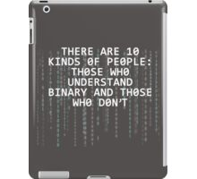 binary iPad Case/Skin