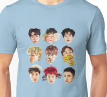 EXO Lucky One Faces Unisex T-Shirt
