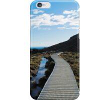 Boardwalk in Tongariro National Park (6) iPhone Case/Skin