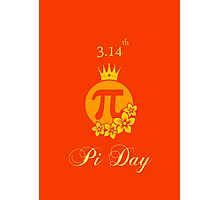 Queen of Pi Photographic Print