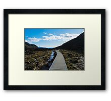 Boardwalk in Tongariro National Park (6) Framed Print