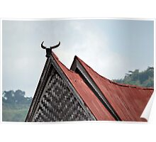batak traditional house Poster