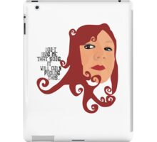 Vector Selfie iPad Case/Skin