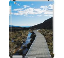 Boardwalk in Tongariro National Park (6) iPad Case/Skin