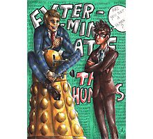 Hannibal - Doctor Who - Exterminate the humans Photographic Print