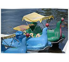 sealion pedal boat Poster