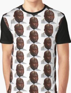 High Quality Crying Jordan Graphic T-Shirt