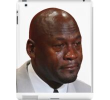 High Quality Crying Jordan iPad Case/Skin